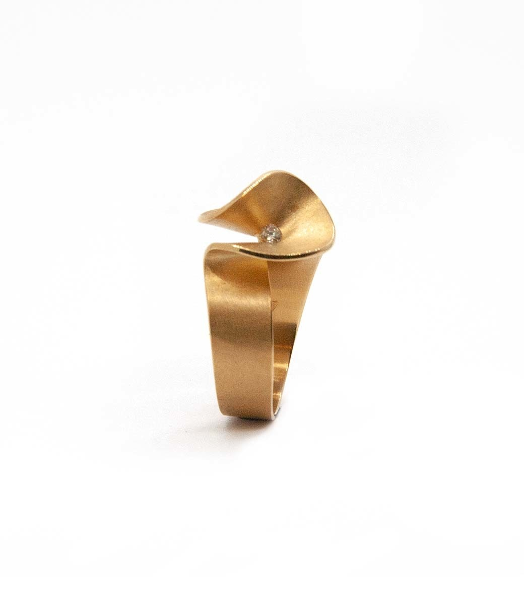 Aster small Ring brilliant 0,07crt-9