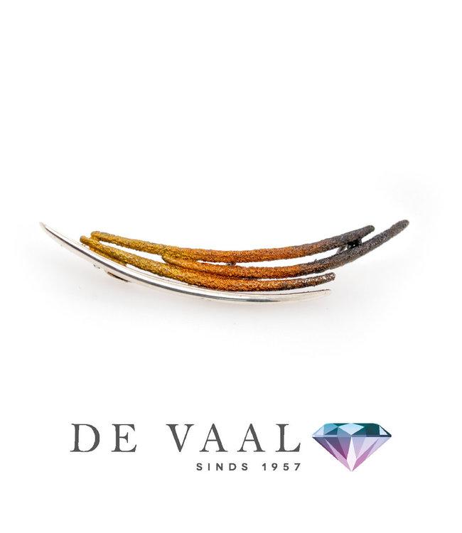 Dynamic ochre pendant