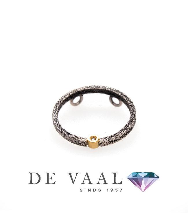 Nieuwe Kora ronde hanger Diamant 0,015Ct.
