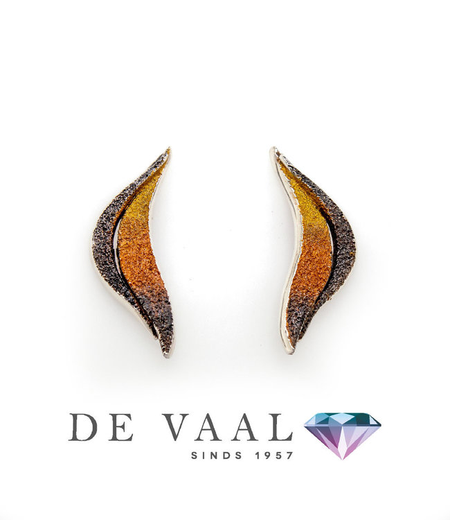 Arior Barcelona Brisa ochre earrings