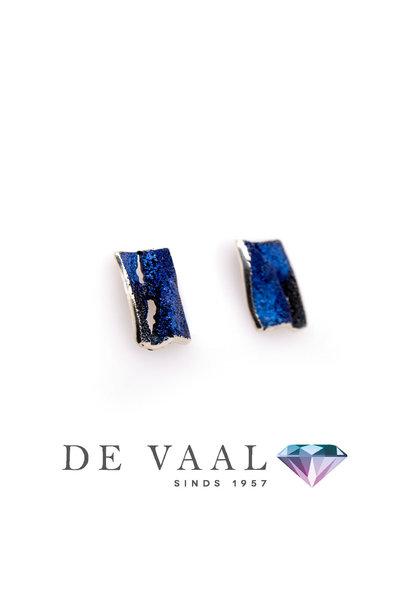 Blue Electric earrings