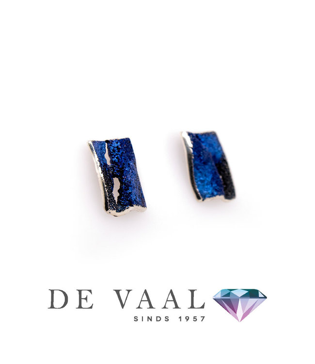 Arior Barcelona Blue Electric earrings