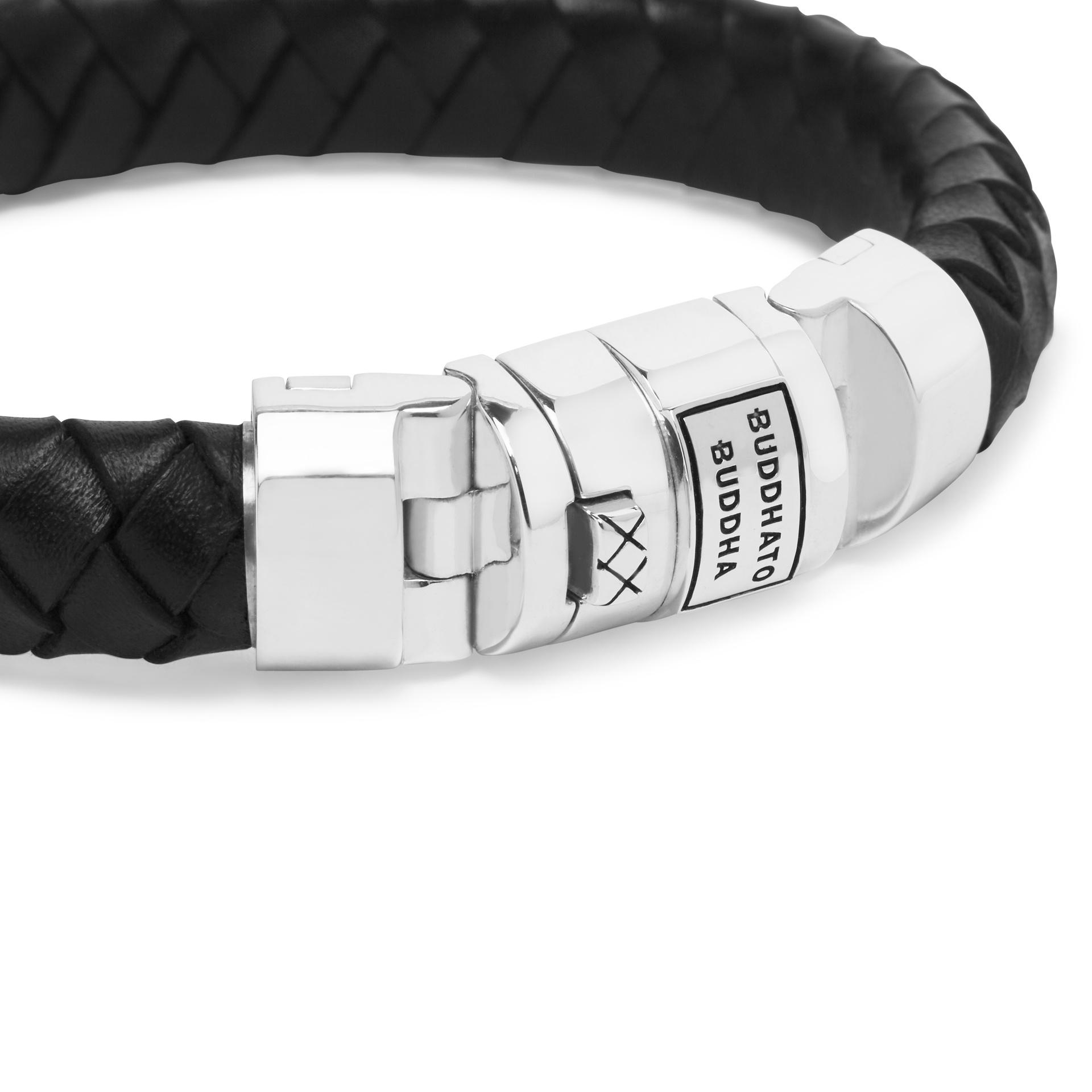 Bracelet Ben Customized Set Silver & Leather-3