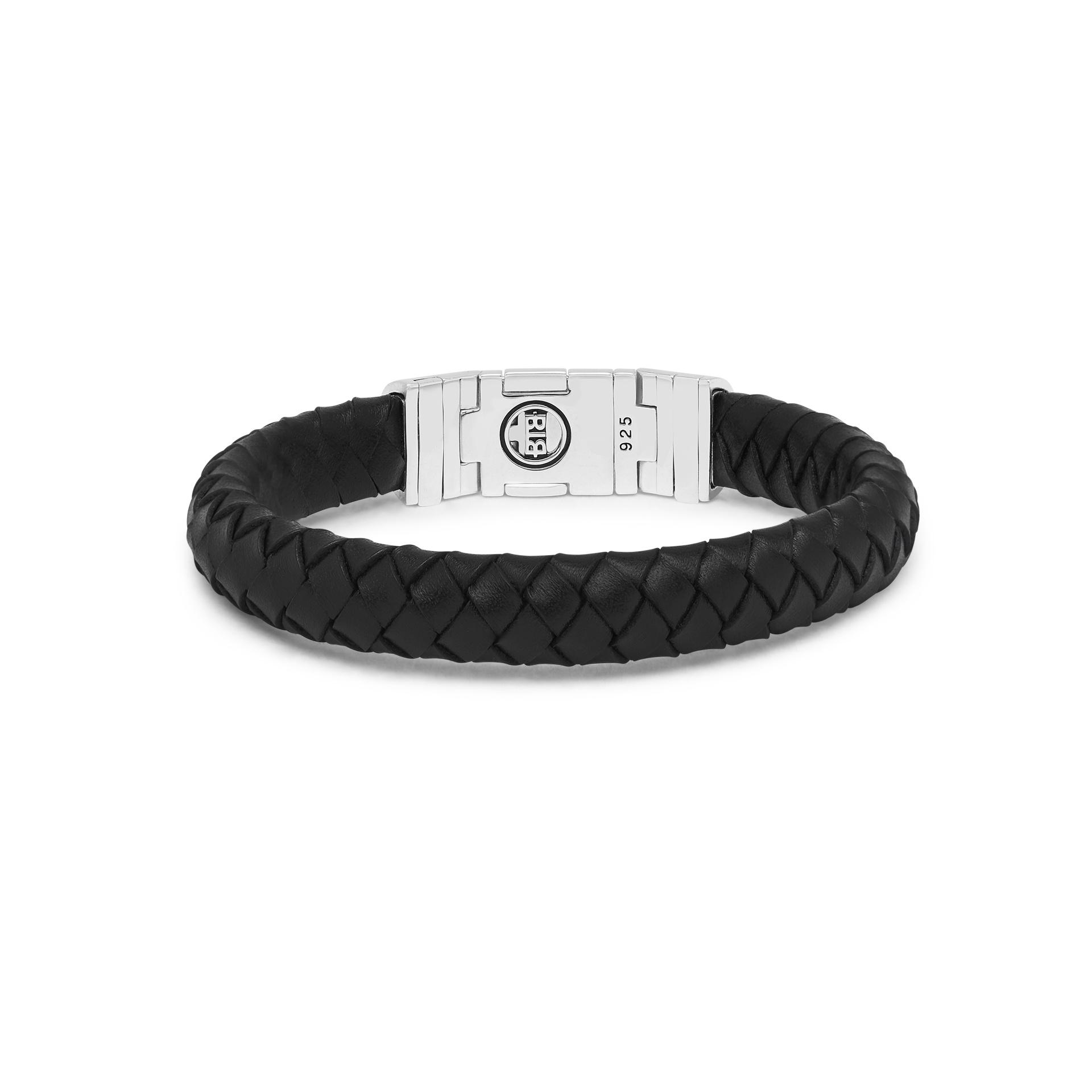 Bracelet Ben Customized Set Silver & Leather-4