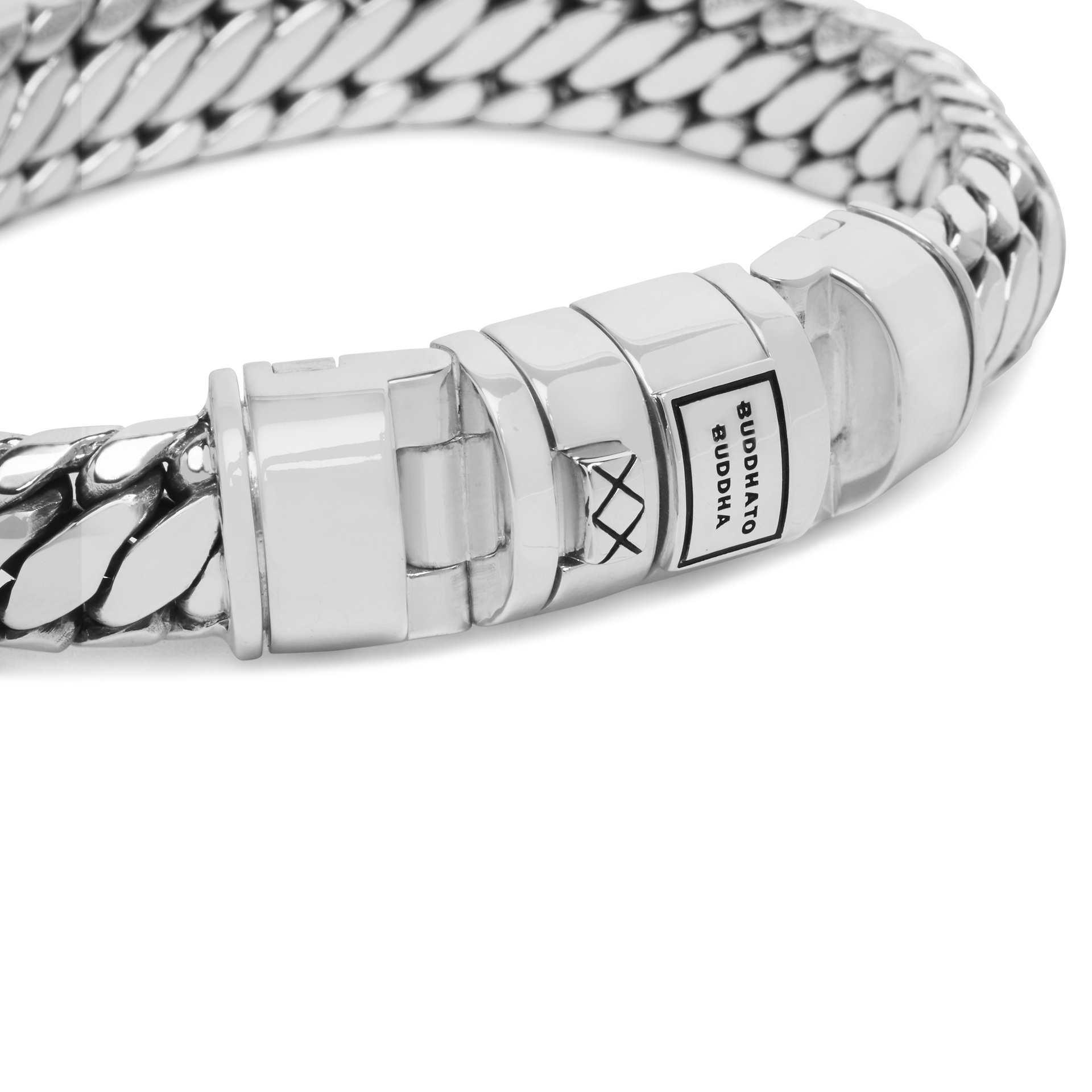 Bracelet Ben Customized Set Silver & Leather-5