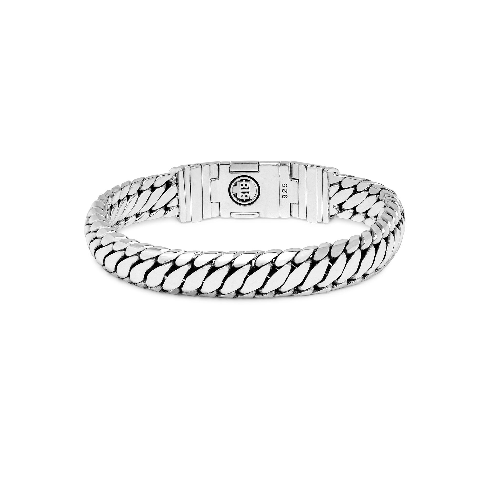 Bracelet Ben Customized Set Silver & Leather-6
