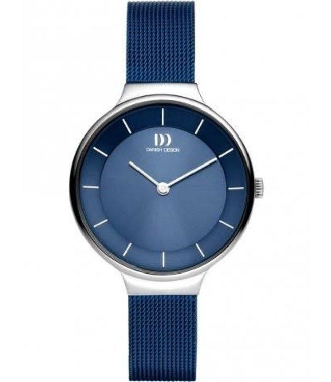 Danish Design watches Georgia blue silver IV69Q1272 horloge.