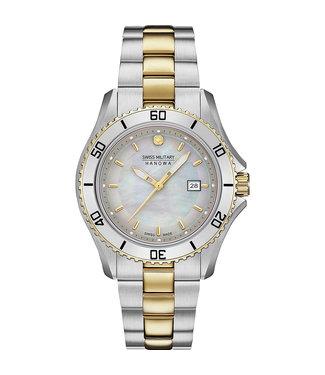 Swiss Military Hanowa 06-7296.7.55.009 Nautila Lady horloge