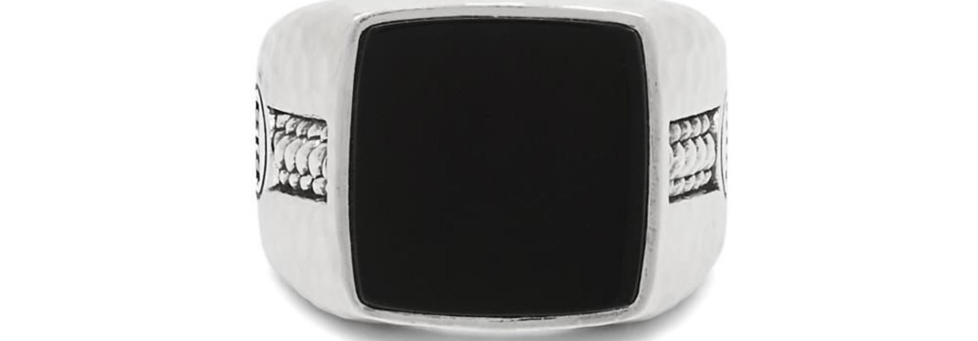 Signet ring Tangguh Onyx