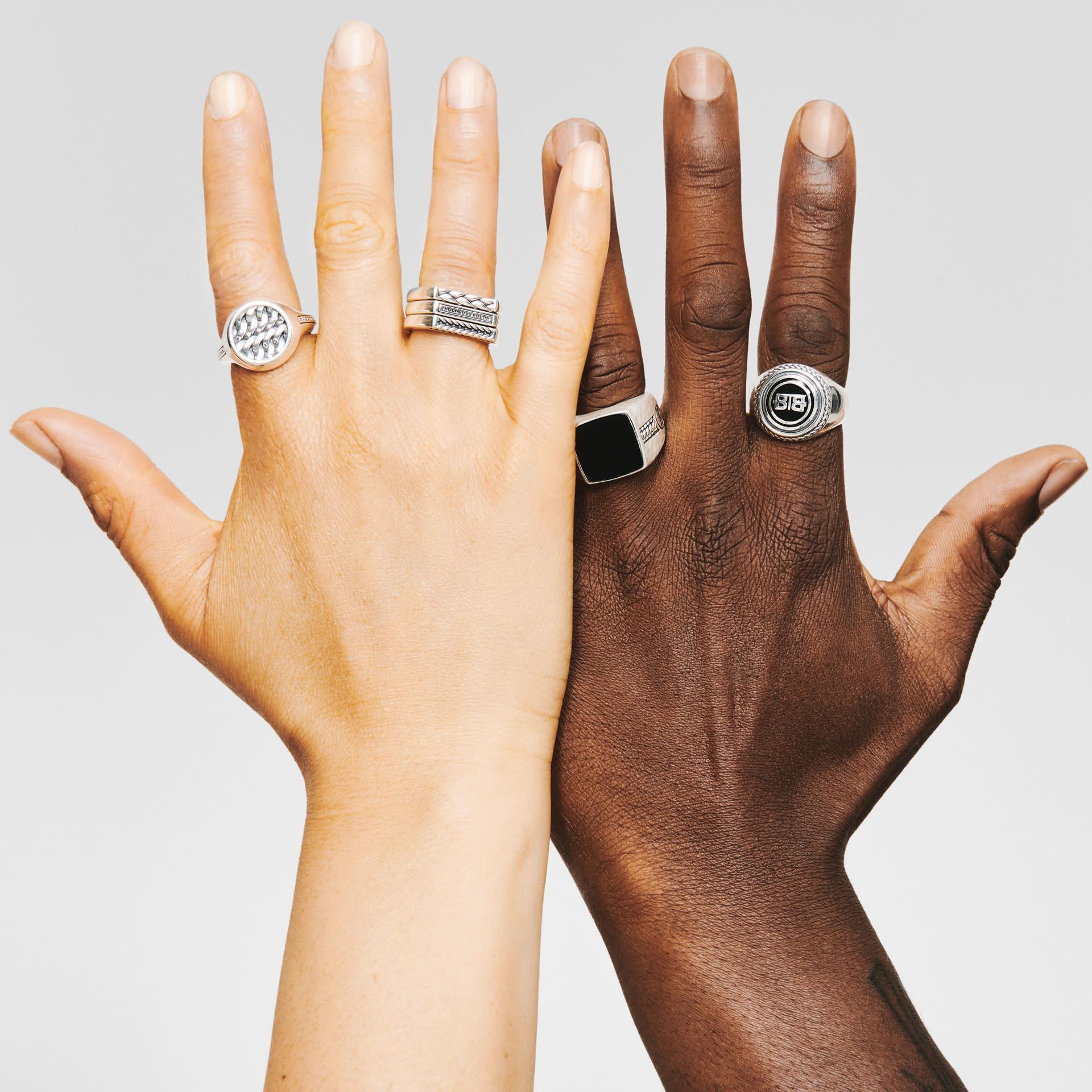 Signet ring Tangguh Onyx-8
