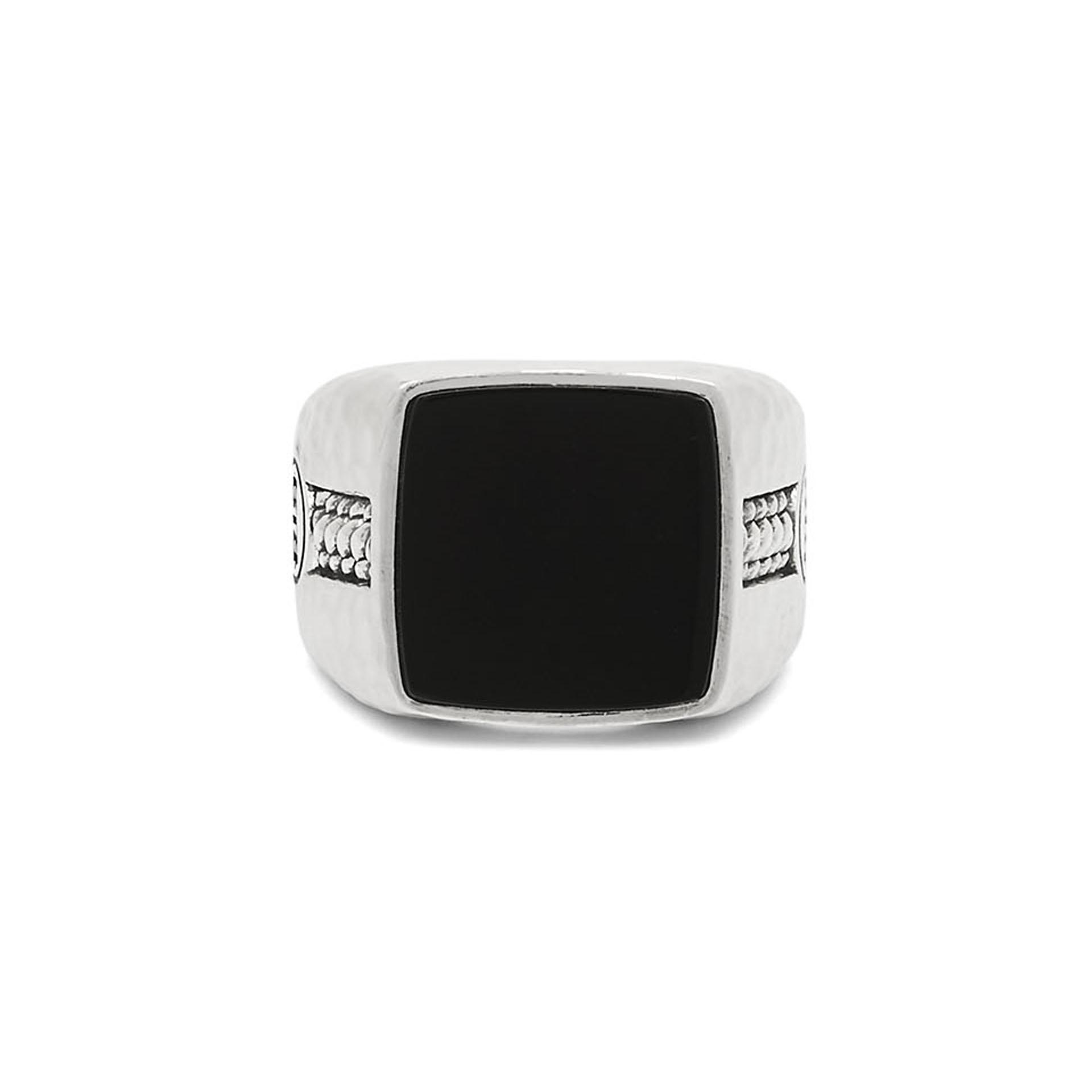 Signet ring Tangguh Onyx-12