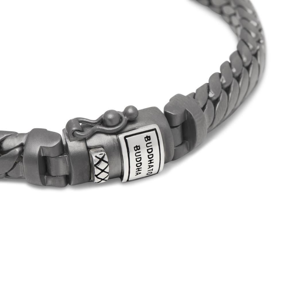 Bracelet Ben XS Black Rhodium Silver-3