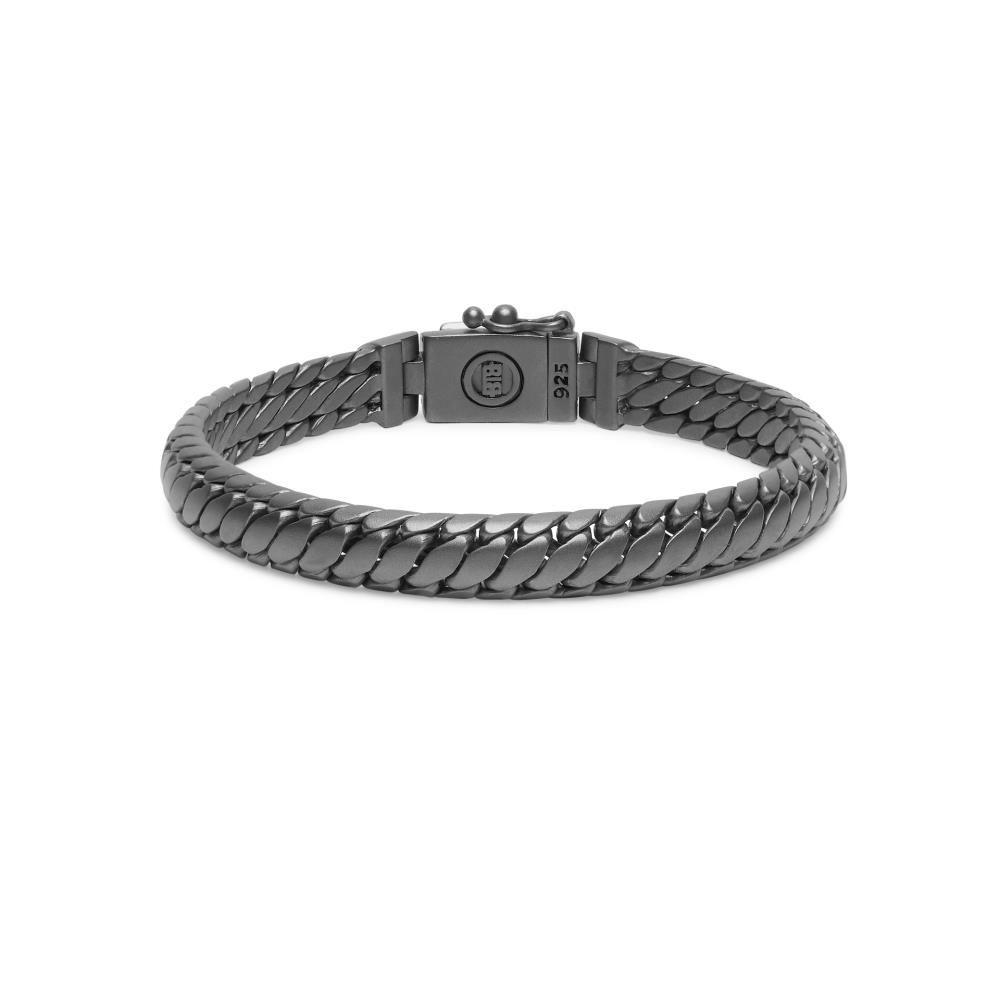 Bracelet Ben XS Black Rhodium Silver-4
