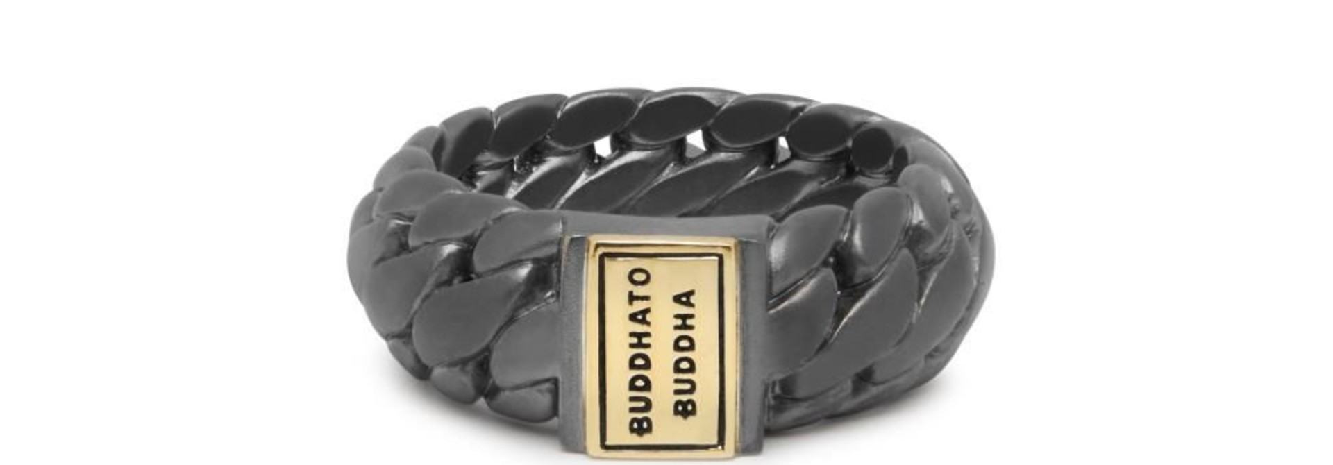 Ring Ben Small Black Rhodium Gold