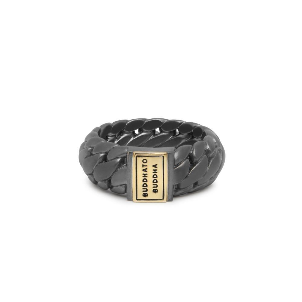 Ring Ben Small Black Rhodium Gold-1