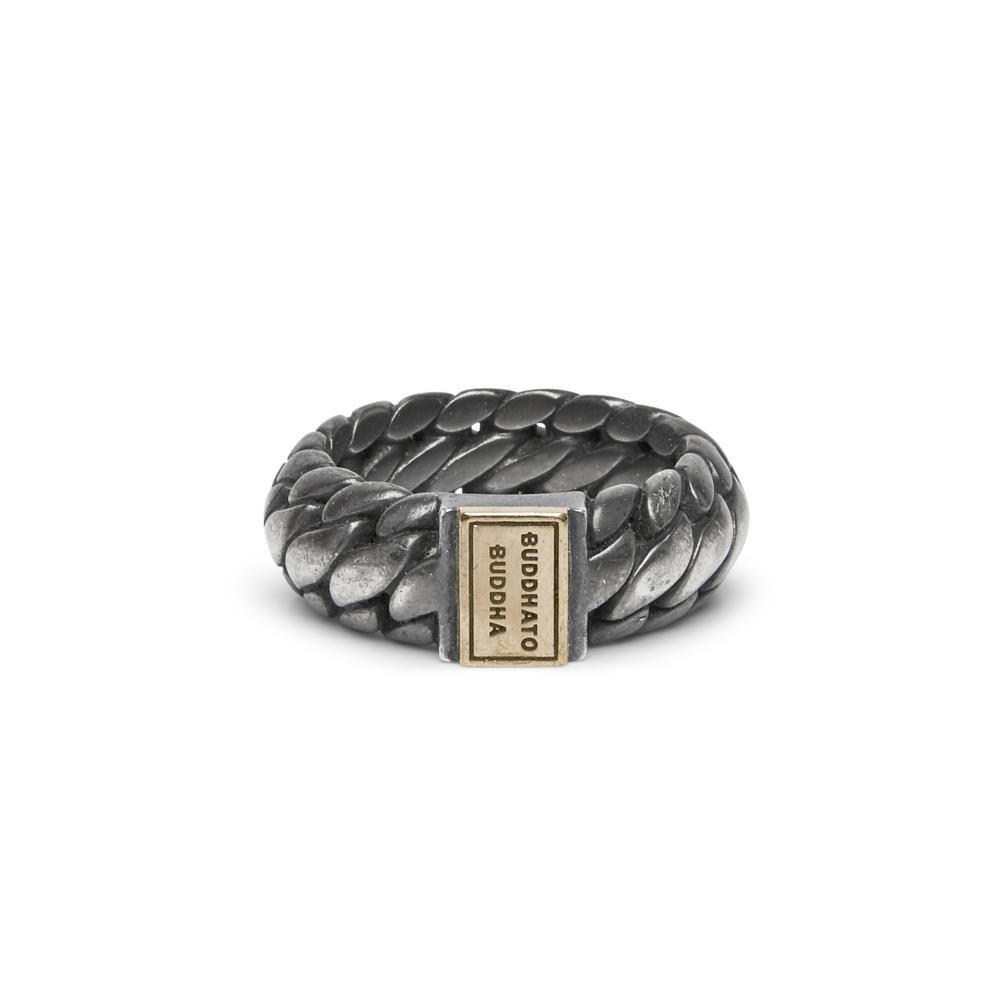 Ring Ben Small Black Rhodium Gold-6