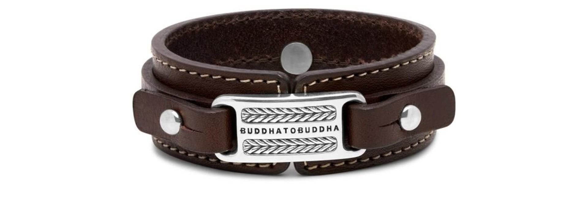 Bracelet Jantan Leather Brown