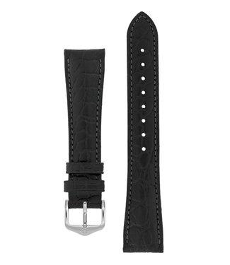 Hirsch Watch strap Aristocrat calf leather 19 mm
