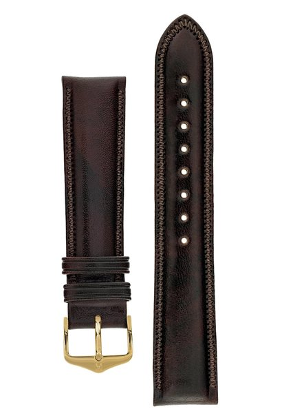 Watchband Ascot calf leather 18 mm