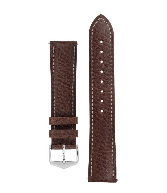 Horlogebandje Boston, Artisan Leather Kalfsleer  16 mm