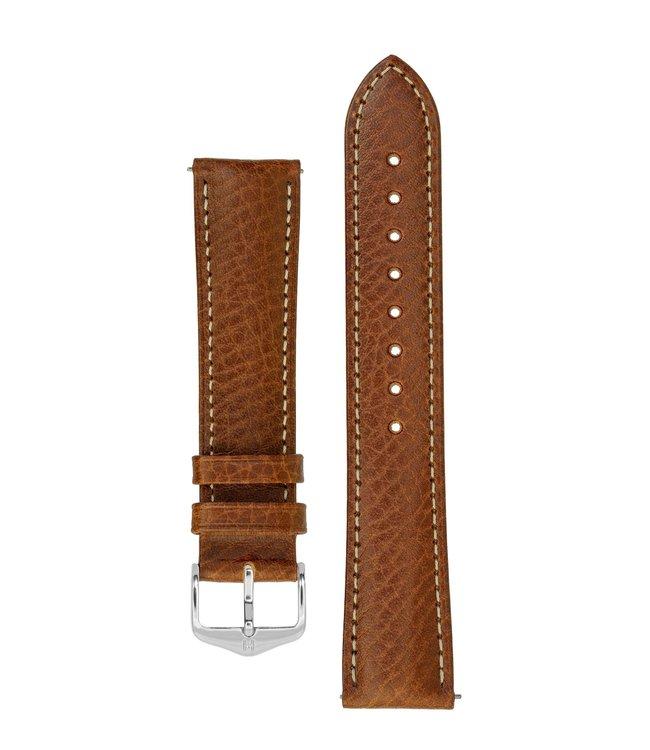 Horlogebandje Boston, Artisan Leather Kalfsleer  18 mm