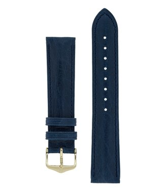 Hirsch Watchband Camelgrain Pro Skin calf leather 12 mm