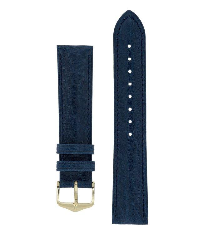 Hirsch Horlogebandje Camelgrain Pro Skin Kalfsleer 18 mm