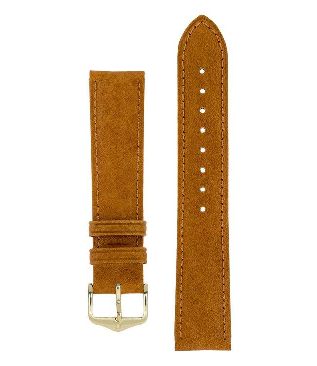 Horlogebandje Camelgrain Pro Skin Kalfsleer 22 mm