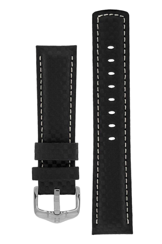 Horlogebandje Carbon Kalfsleer 22 mm-5