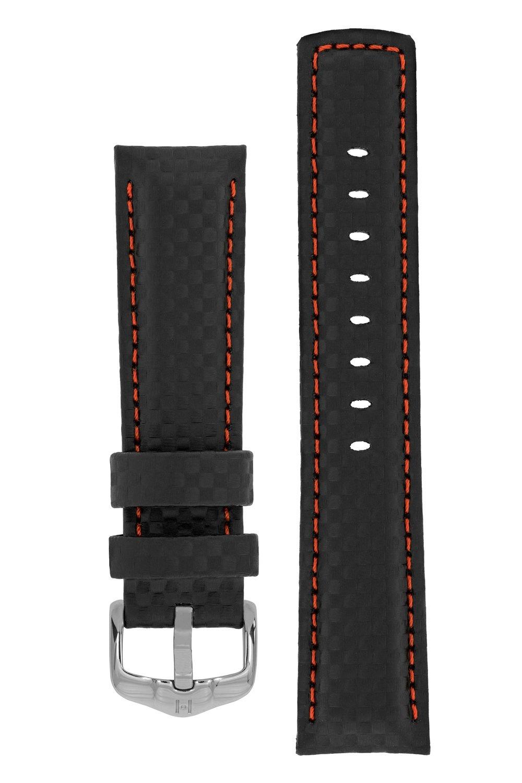 Horlogebandje Carbon Kalfsleer 24 mm-1