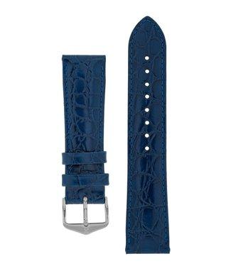 Hirsch Watch strap Crocograin calf leather 16 mm