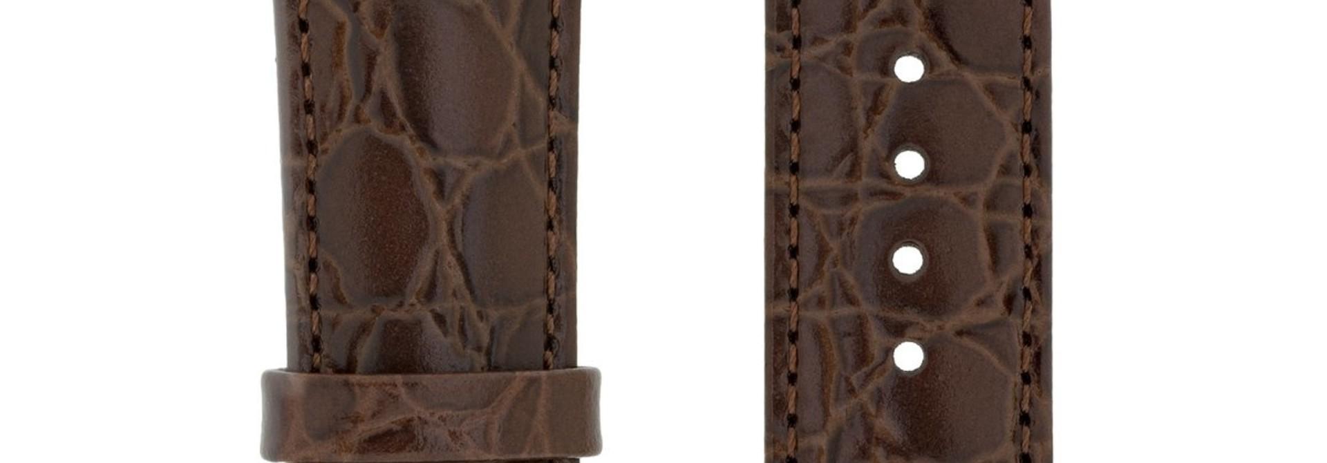 Horlogebandje Crocograin Kalfsleer 16 mm