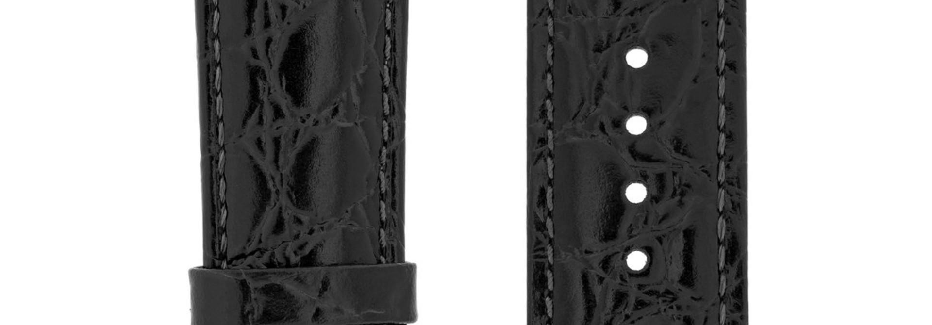 Horlogebandje Crocograin Kalfsleer 17 mm