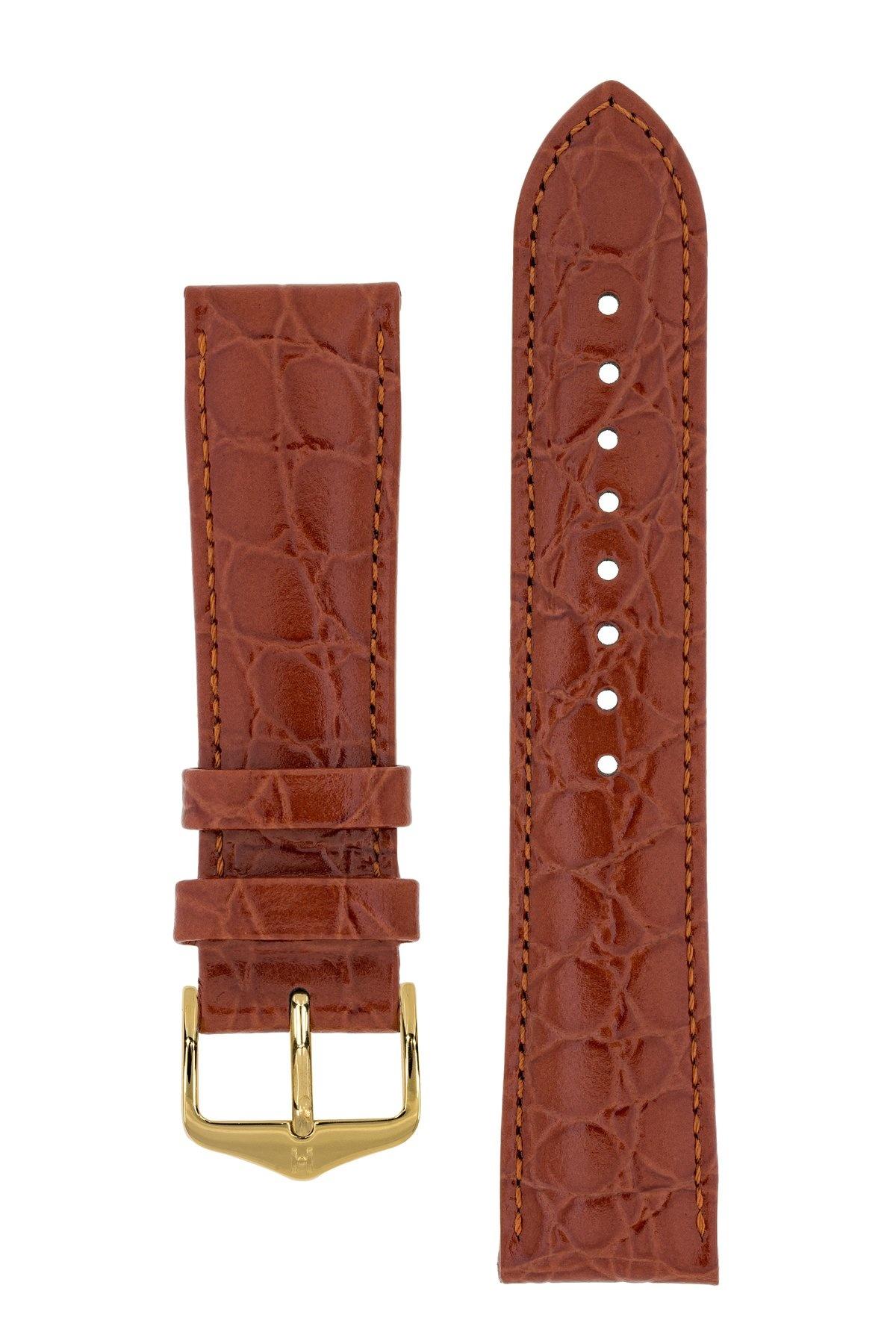 Horlogebandje Crocograin Kalfsleer 20 mm-8