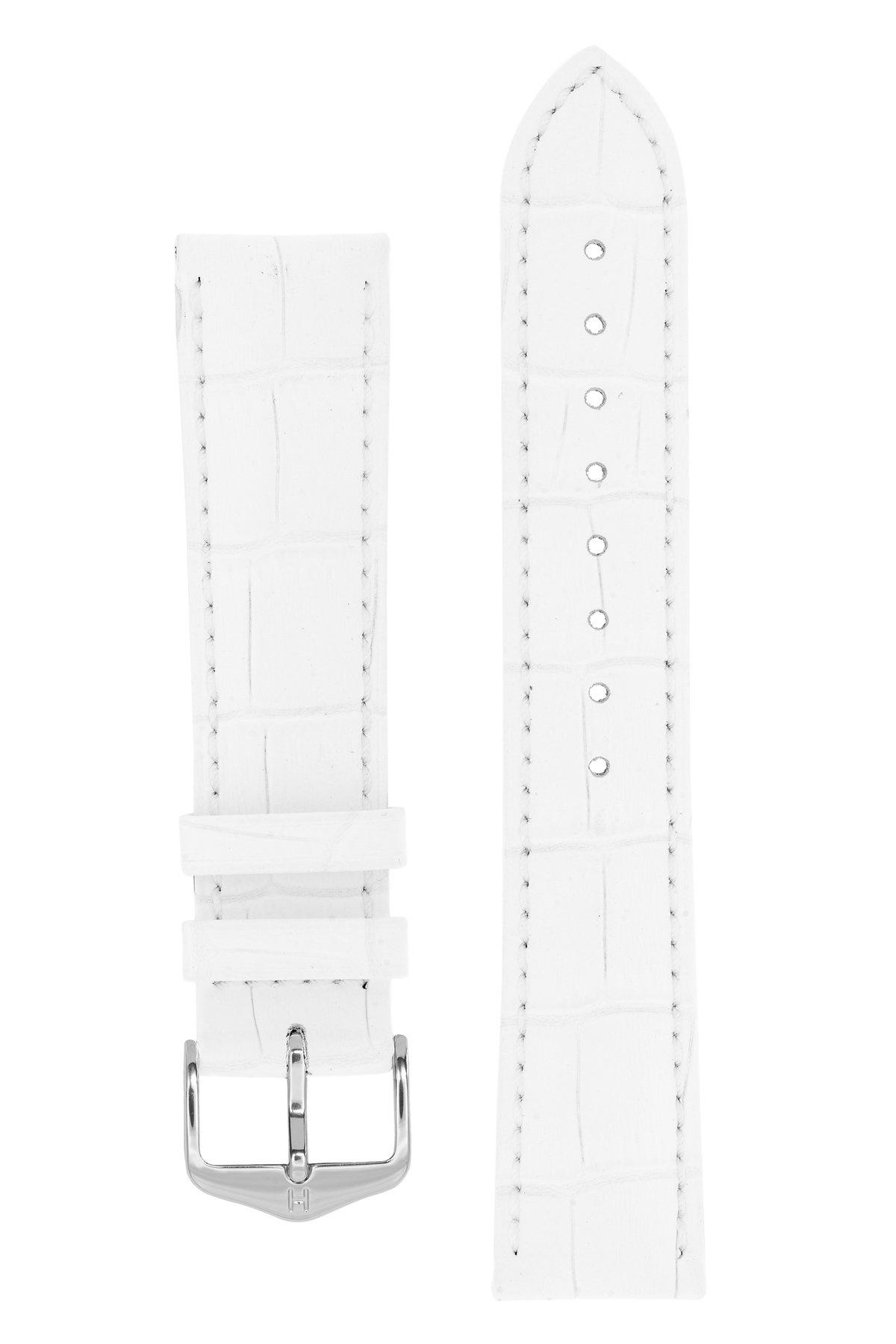 Horlogebandje Duke Alligator embossed Kalfsleer 16 mm-3