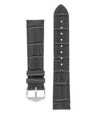 Hirsch Horlogebandje Duke Alligator embossed Kalfsleer 20 mm