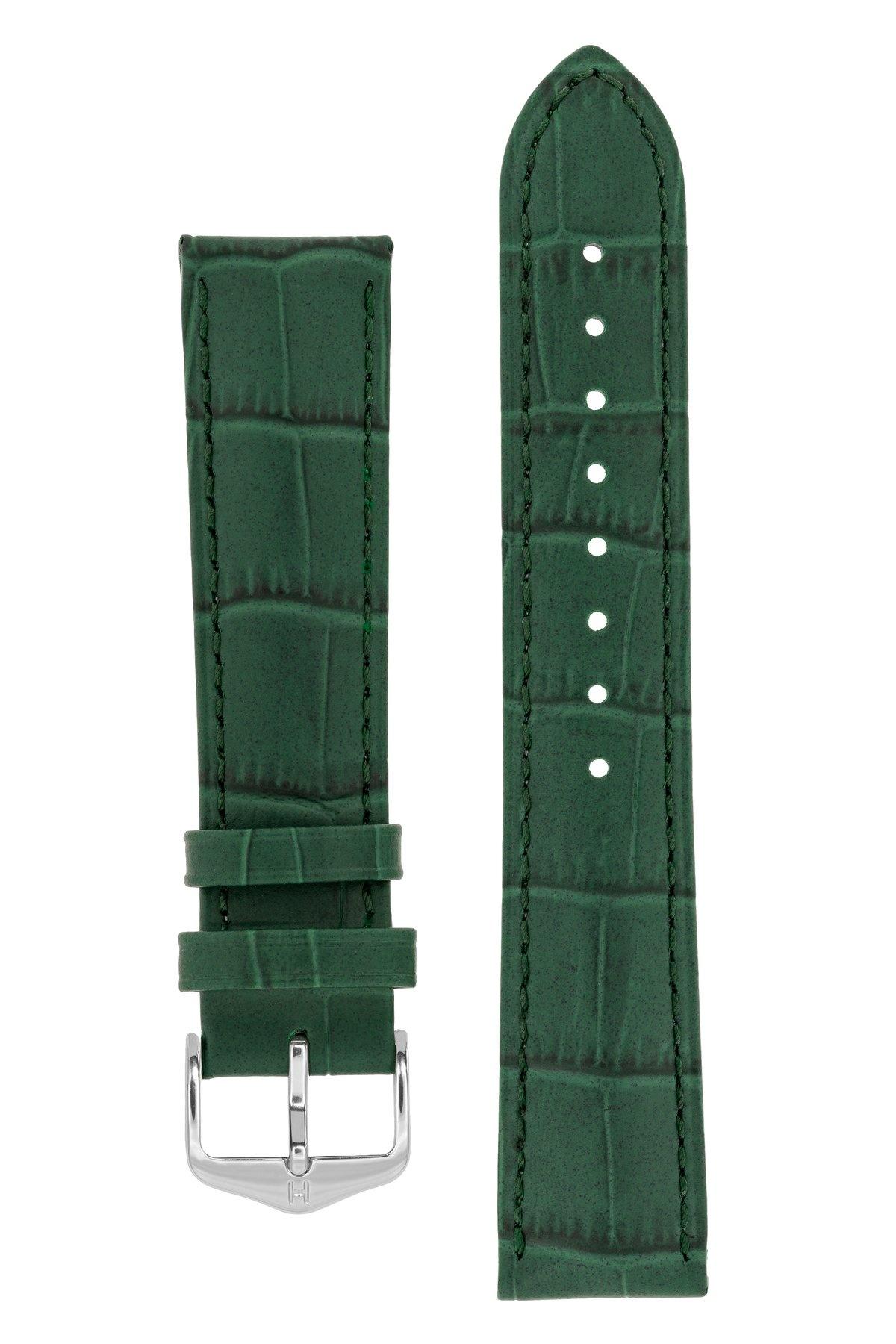 Horlogebandje Duke Alligator embossed Kalfsleer 22 mm-3