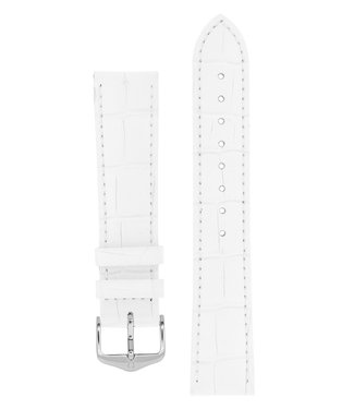 Hirsch Watchband Duke Alligator embossed calf leather 24 mm