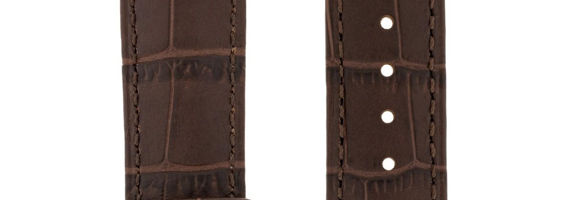 Horlogebandje Duke Alligator embossed Kalfsleer 26 mm
