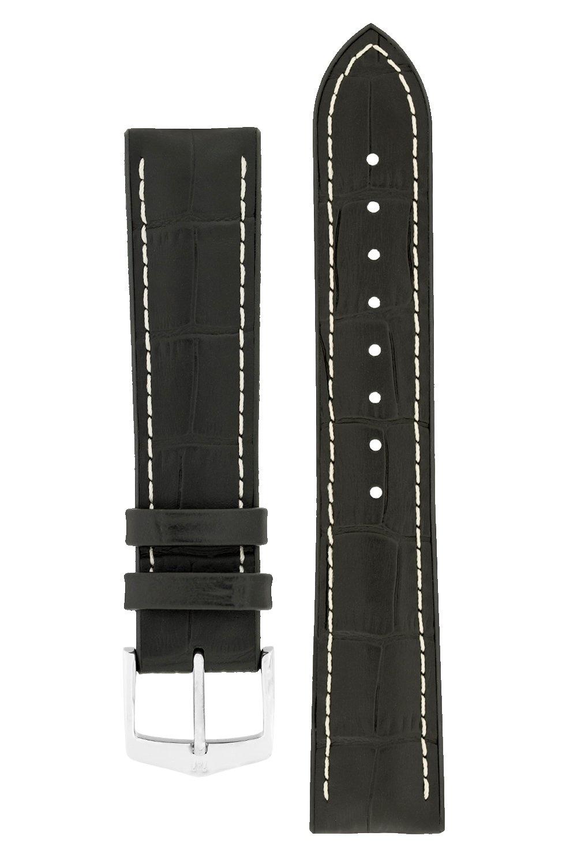 Watchband George calf leather + Premium Caoutchouc (Rubber) 20 mm-2