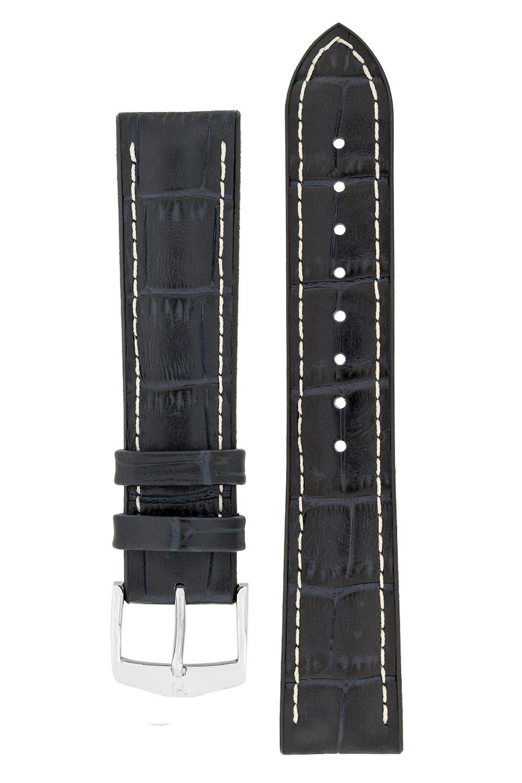 Watchband George calf leather + Premium Caoutchouc (Rubber) 20 mm-4