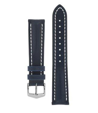 Hirsch Watchband Heavy Calf calf leather 22 mm