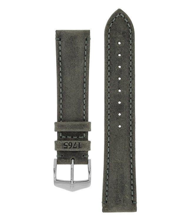 Hirsch Horlogebandje Heritage, Artisan Leather Kalfsleer  20 mm