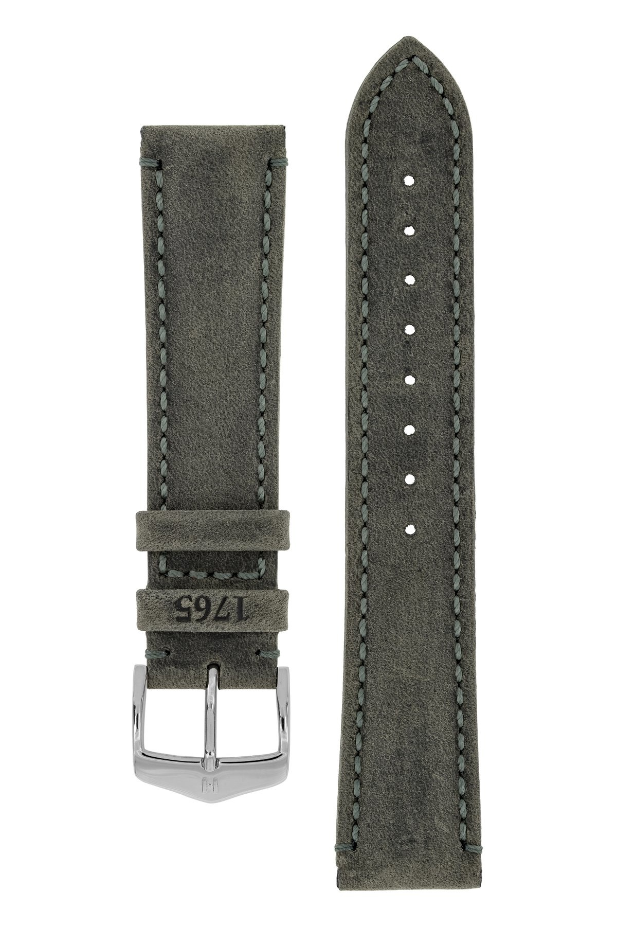 Horlogebandje Heritage, Artisan Leather Kalfsleer  22 mm-1
