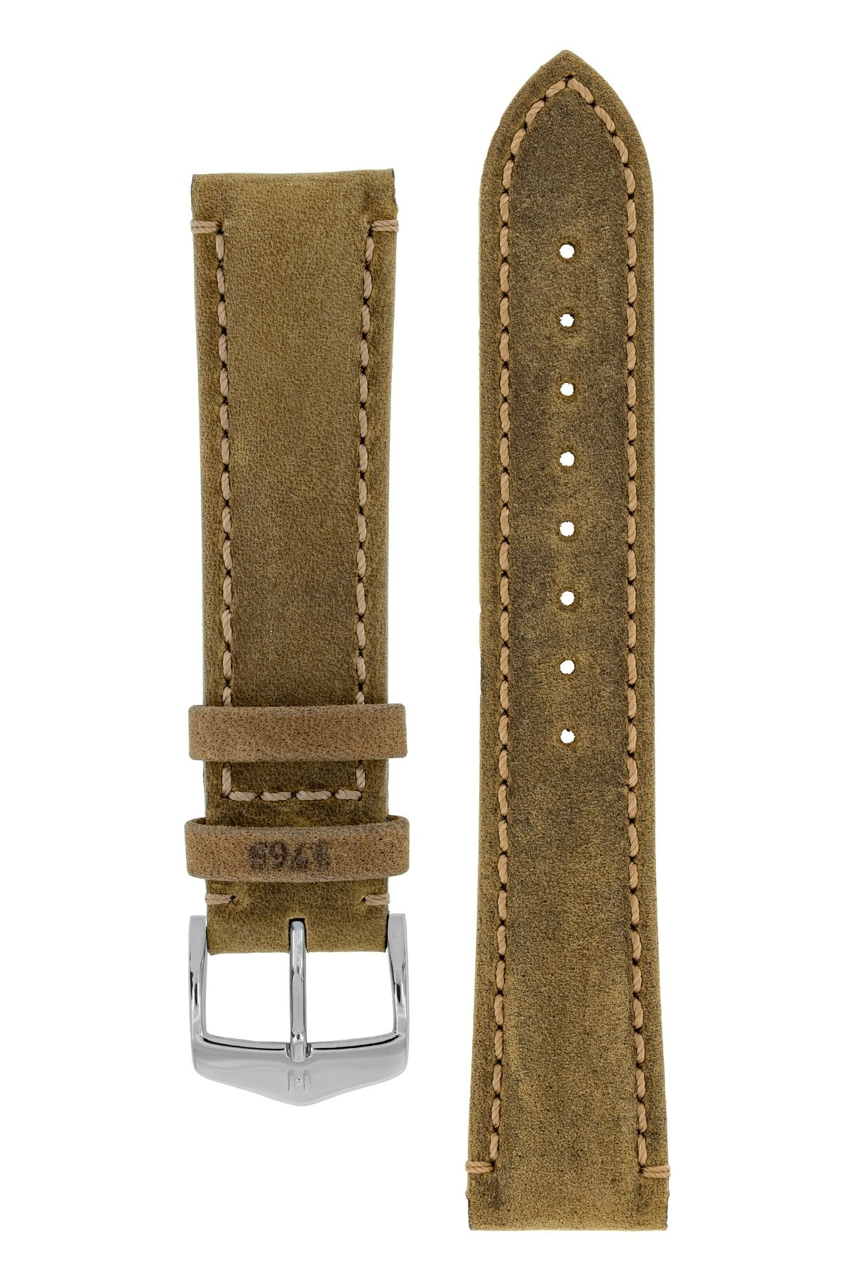 Horlogebandje Heritage, Artisan Leather Kalfsleer  22 mm-2
