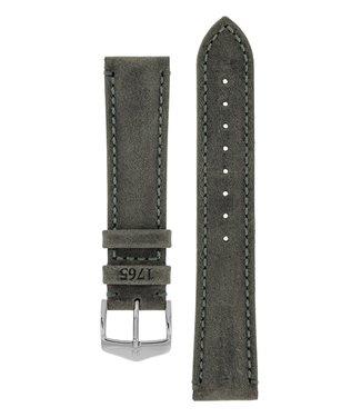 Hirsch Horlogebandje Heritage, Artisan Leather Kalfsleer  24 mm