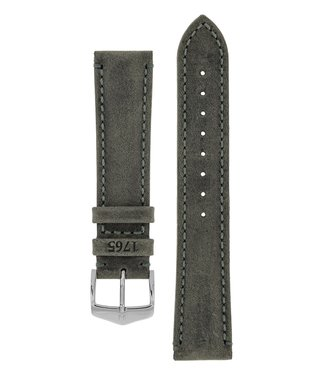 Hirsch Watchband Heritage, Artisan Leather calf leather  24 mm