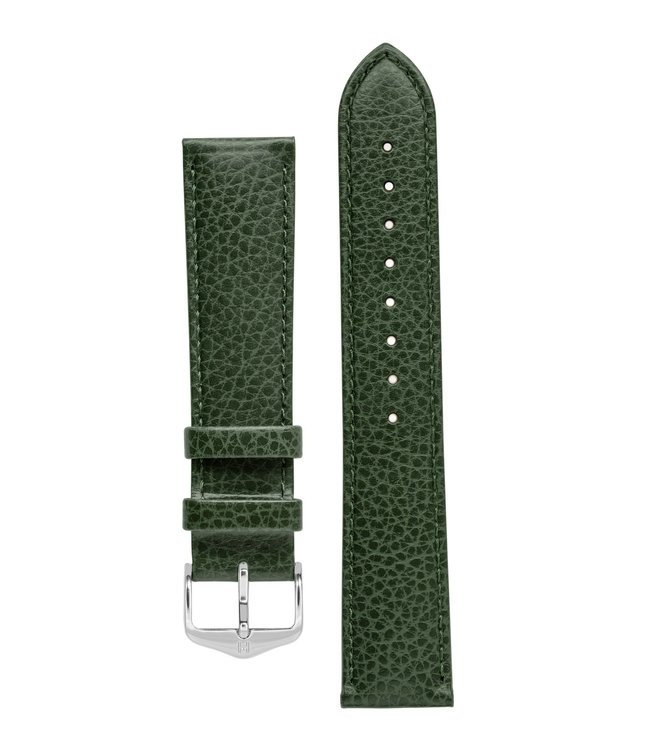 Hirsch Horlogebandje Kansas Kalfsleer 18 mm