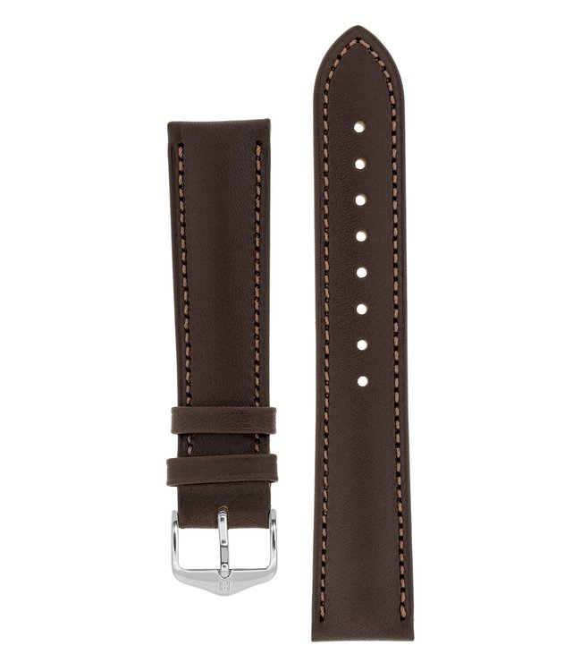 Hirsch Horlogebandje Kent Kalfsleer  16 mm