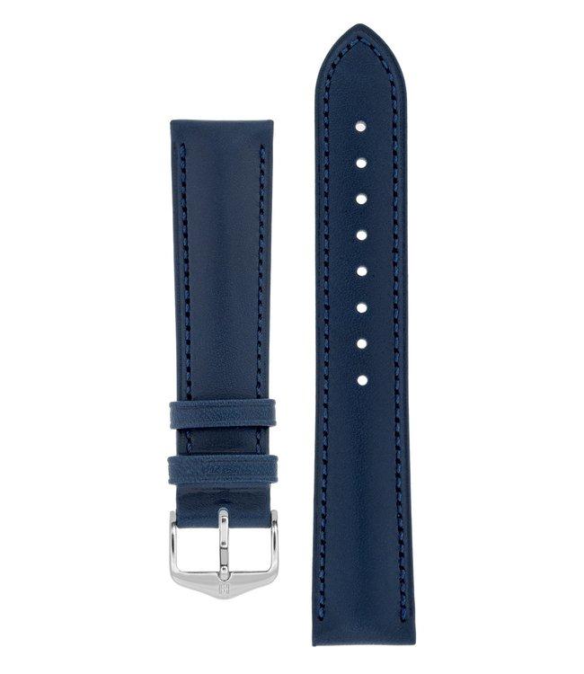 Hirsch Horlogebandje Kent Kalfsleer  18 mm